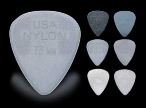 Jim Dunlop Nylon Picks (2pc) Choice Of Size Options