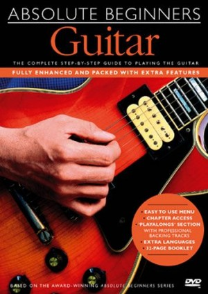 DVD Tutor Absolute Beginners Guitar DVD