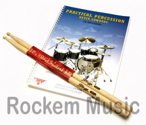 Practical Percussion Kevin Edwards With FREE Pair Of Sticks