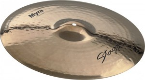 "Stagg 16"" Myra Rock Crash Cymbal MY-CR16B"