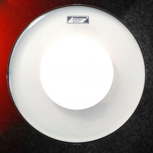 "Aquarian 13"" Power Thin Coated Snare Drum Head"