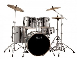 "Pearl VB 20"" Fusion Polished Chrome Drum Kit VB805/C-49"
