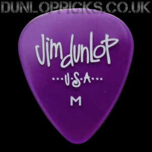 Dunlop Gel Standard x9 Purple Guitar Picks (M) Medium