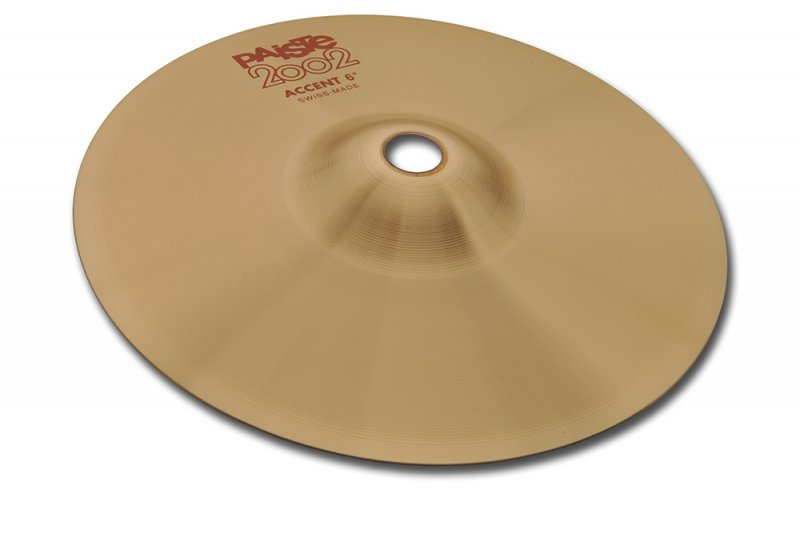 """Paiste 06"""" 2002 Accent Cymbal PAC069306"""
