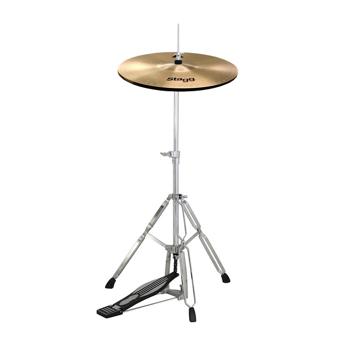 Stagg 14 Quot Ax Hi Hat Cymbals Amp Mapex Tornado Cymbal Stand