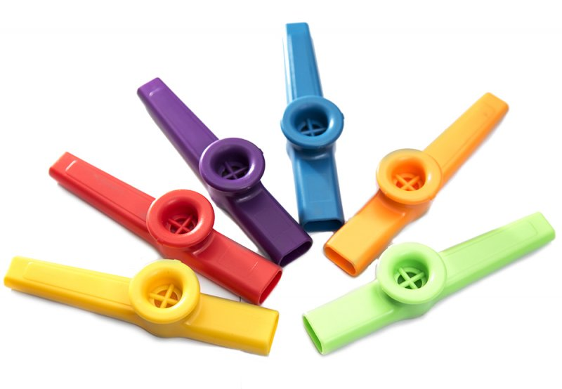 Stagg Plastic Kazoo Various Colours