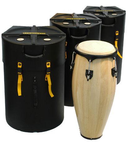 Hardcase HNTUMBA Conga Case With Wheels