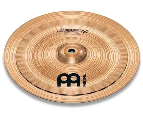 "Meinl 12"" Generation X Electro Stack Cymbals GX-10/12ES"