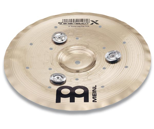 "Meinl 12"" Generation X Jingle Filter China Cymbal GX-12FCH-J"