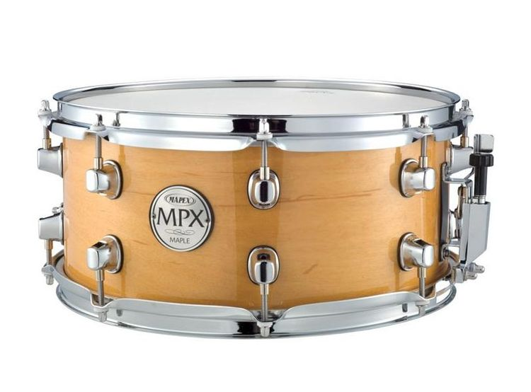 "Mapex 13"" MPX Glossy Natural Maple Snare Drum MPML3600CNL"