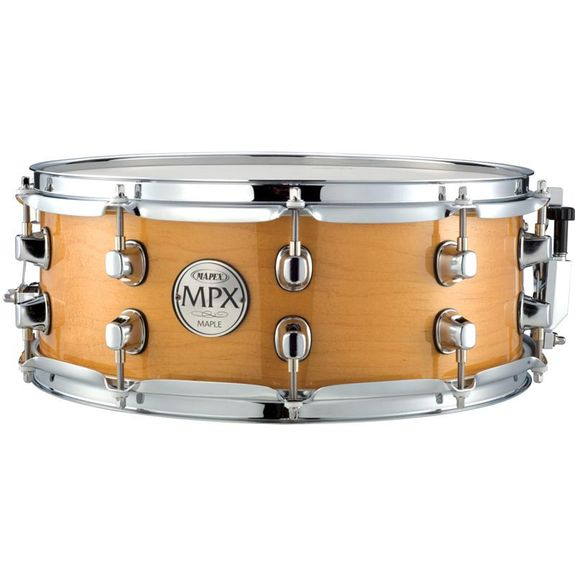 "Mapex 14"" MPX Glossy Natural Maple Snare Drum MPML4550CNL"