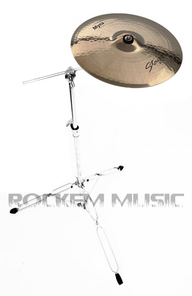 "Stagg 16"" Myra Rock Crash Cymbal MY-CR16B & Mapex Tornado Stand"
