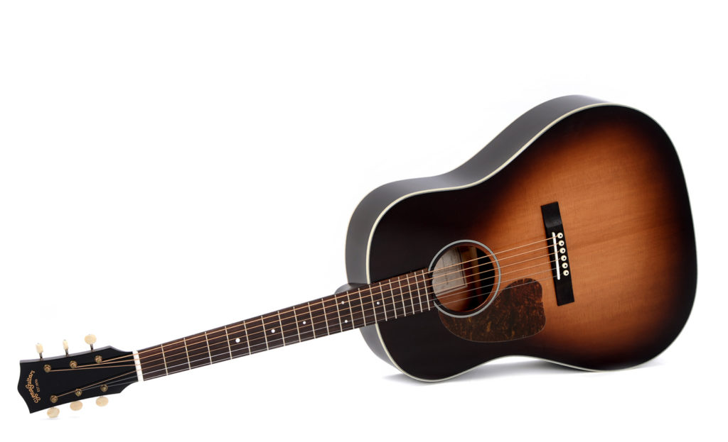 Musical Instruments & Gear Guitars & Basses 000 Small Body Acoustic Electric Guitar With Built In Tuner Lustrous Hearty Sigma 000me