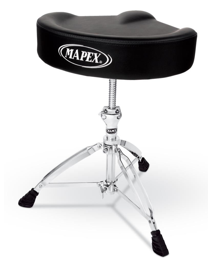 Mapex T755 Drum Stool/Throne Saddle Top Threaded Shaft