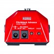 Korg PB-AD-RD Electric Guitar Pedal Tuner, Red