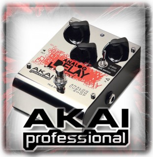 Akai Effects Pedals
