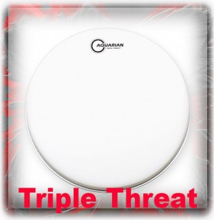 Aquarian Triple Threat Drum Heads