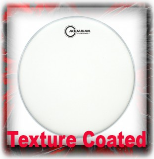 Aquarian Texture Coated Drum Heads
