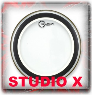 Aquarian Studio X Drum Heads