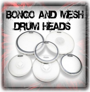 Bongo, Djembe And Mesh Drum Heads