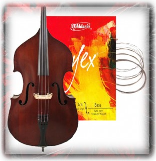 Double Bass Guitar Strings