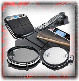 Electronic Drum Kit Spares, Pads, Drum Machines & Accessories