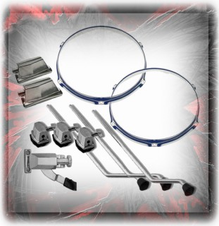 Drum Spares - Hoops, Claws, Etc