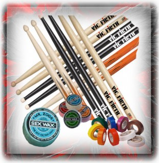Drum Stick & Stick Accessories