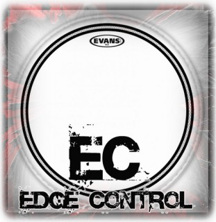 Evans EC Edge Control Drum Heads
