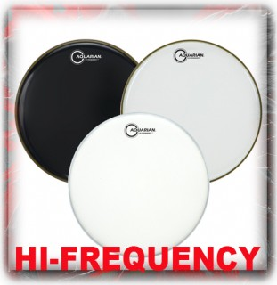 Aquarian Hi-Frequency Drum Heads