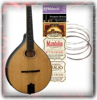 Banjo, Ukulele, Mandolin,Violin And Misc Strings