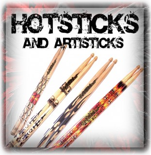 Hotsticks & Artsticks - Drum Sticks