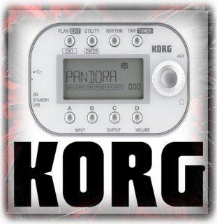 Korg Effects Pedals & Controller Units