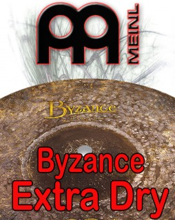 Meinl Byzance Extra Dry Cymbals