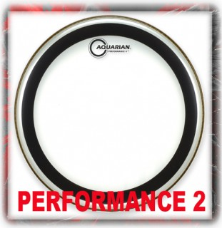 Aquarian Performance 2 Drum Heads