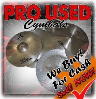 PRO USED CYMBALS