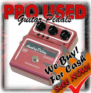 PRO USED GUITARS EFFECTS PEDALS