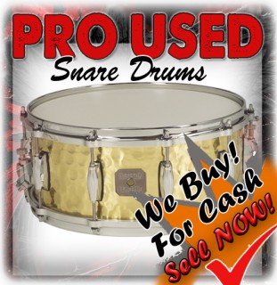 PRO USED SNARE DRUMS