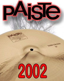 Paiste 2002 Series Cymbals