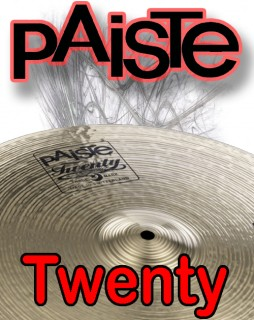 Paiste Twenty And Masters Series Cymbals