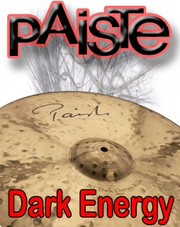 Paiste Dark Energy Series Cymbals