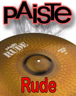 Paiste Rude Series Cymbals