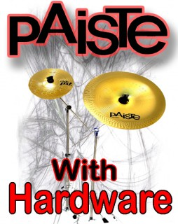 Paiste Cymbals On Stands