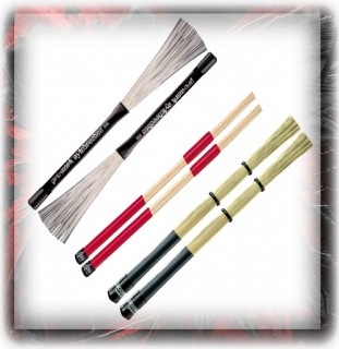 Promark Brush & Speciality Drum Sticks