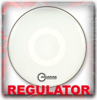 Aquarian Regulator Drum Heads