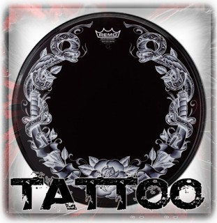Remo Tattoo Drum Heads