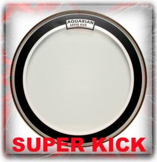 Aquarian Super Kick Drum Heads