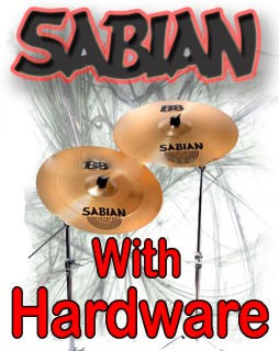 Sabian Cymbals With Hardware