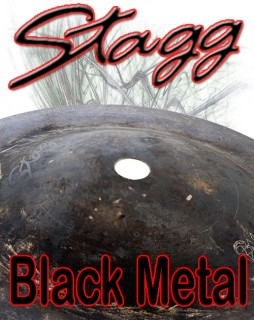 Stagg Black Metal Cymbals