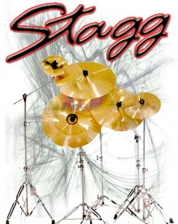Stagg Cymbals On Stands
